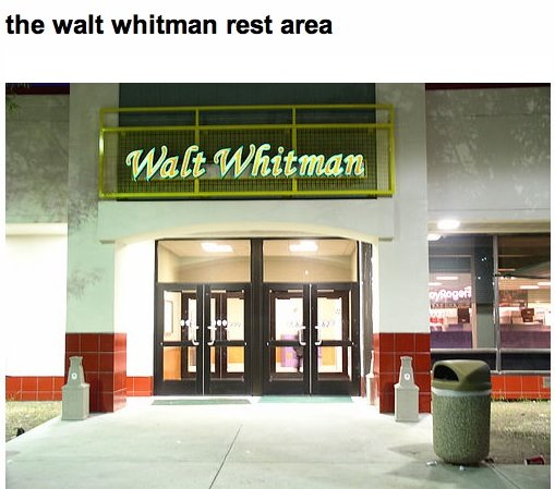 whitman reststop