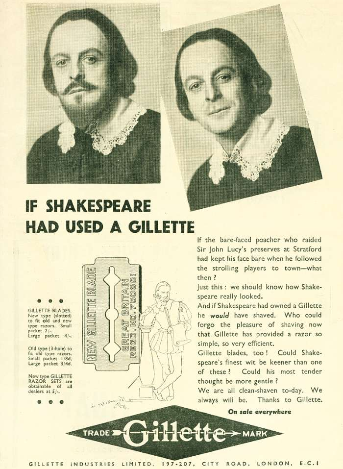 shakespeare gillette